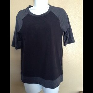 Lole basic athletic Short Sleeve Black XS Top